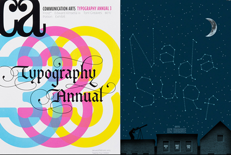 Nada Surf typography annual